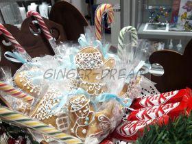 Имбирные пряники новогодние Ginger Dream